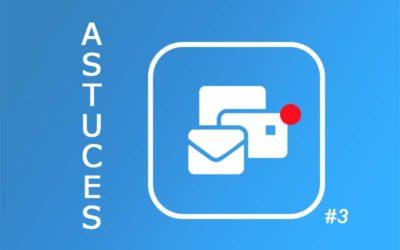 Tip 3: pas uw Perfony? e-mailmeldingen aan Het is mogelijk!